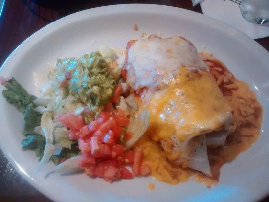 Ashton, MD: Burrito luncheon special