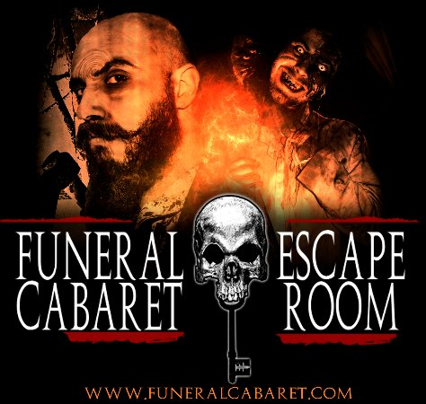 ‪Funeral Cabaret Escape Room‬