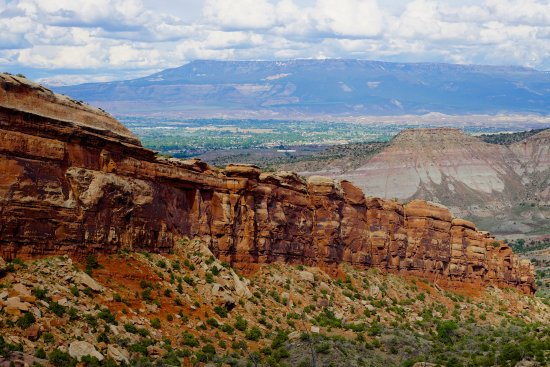 Colorado National Monument: Geology at Colorado NM
