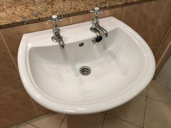 Ballygarry House Hotel & Spa: Wie immer, zwei Wasserhähne