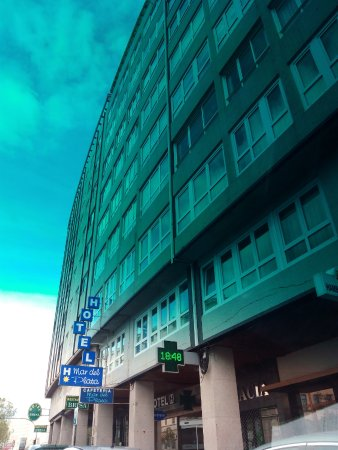 Hotel Mar Del Plata: Fachada del hotel