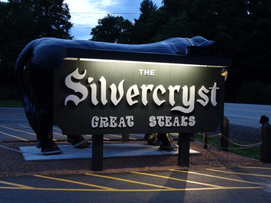 "The Silvercryst: ""Boris the Bull"" located behind their sign makes this place easy to find! Great for taking photo"