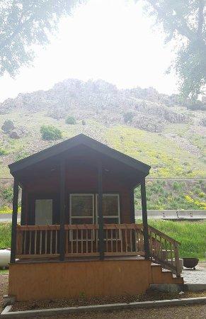 Lava Hot Springs KOA: Our Cabin, L30
