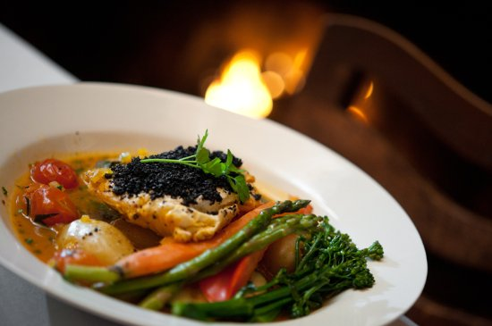 Anglers Dining: Attention is given on reducing the carbon footprint of ingredients, supporting and sourcing loca
