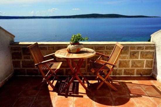 Hotel Skalinada: Room balcony