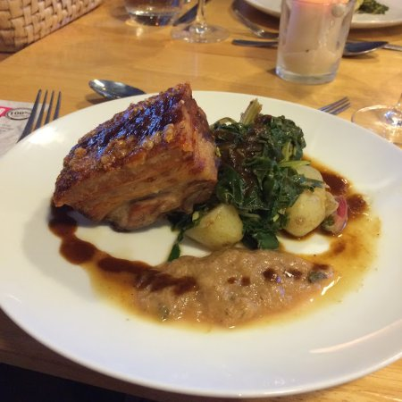 Longhope, UK: Braised, Pressed and Crackled Belly Pork