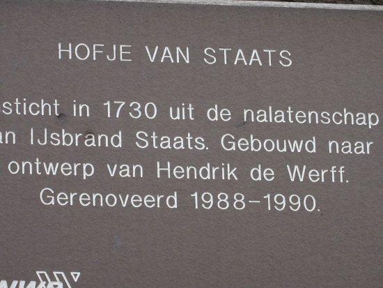 Hofje Van Staats