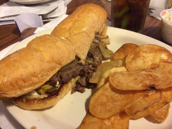 Goetzville, MI: huge sandwich