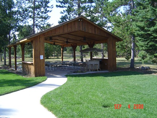 Wildwedge RV Park and Lodge: Picnic Pavillion