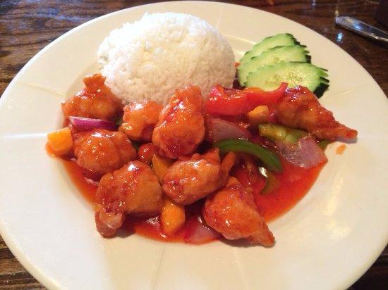 Sushi Zen: Thai Sweet & Sour Chicken