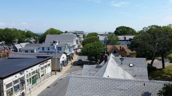 Oak Bluffs Inn: View of Circuit Avenue from Inn's tower