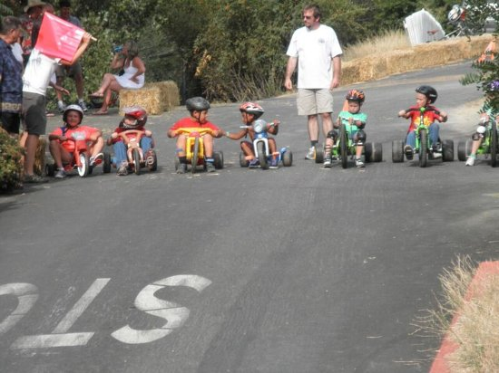 Big Wheel Extravaganza Line-up, Amador City