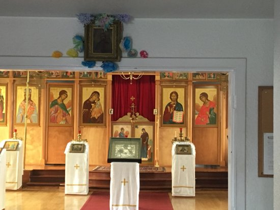 Holy Resurrection Russian Orthodox Church: Artifacts inside the Church