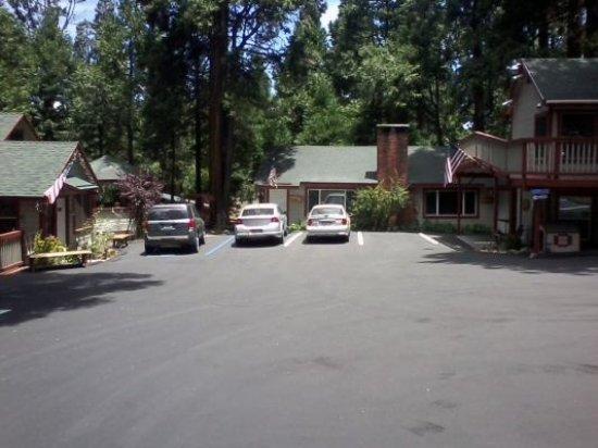 Crestline, Californien: Entrance