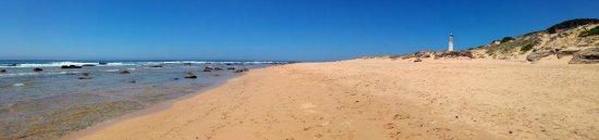 Provincia de Cádiz, España: Panoramica del Faro y Playa