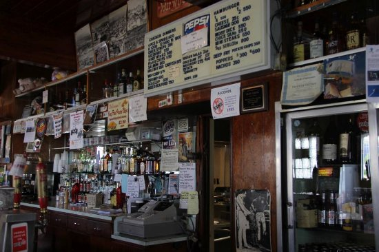 Butte, MT: Behind the bar.