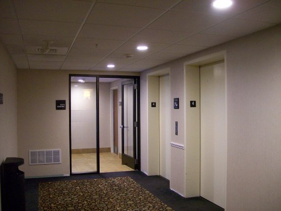 the interior corridor to your rooms picture of hampton. Black Bedroom Furniture Sets. Home Design Ideas