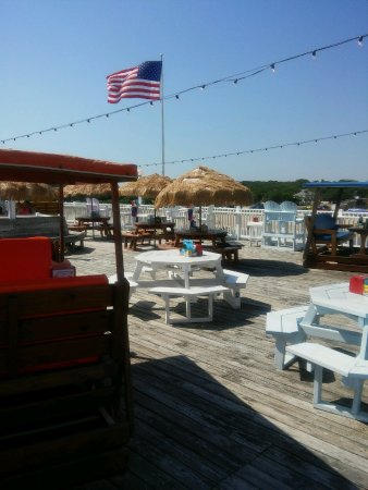 Picture of ocean view fishing pier restaurant for Fishing in norfolk va