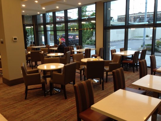 Residence Inn By Marriott Seattle University District Dining Area For Breakfast