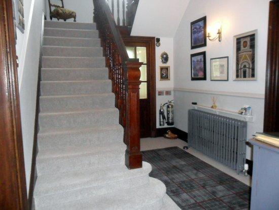 Adina B&B: Hall and Stairs