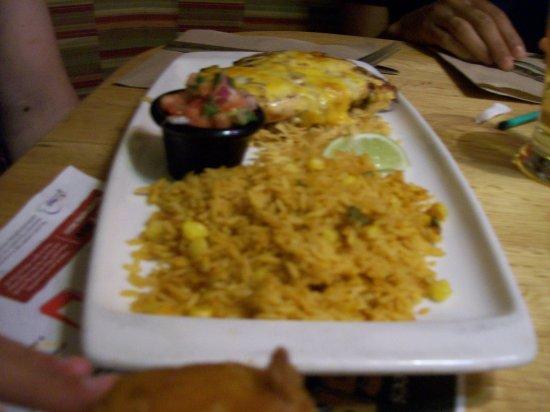 Applebee's: Chicken & Rice.