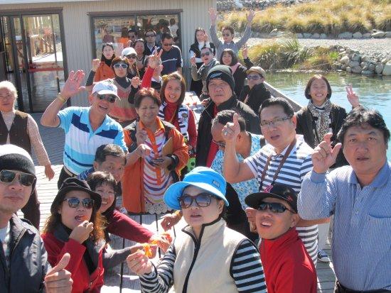 Twizel, New Zealand: Crowd