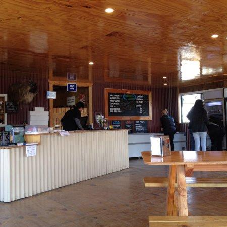 Twizel, Nova Zelândia: Inside shop