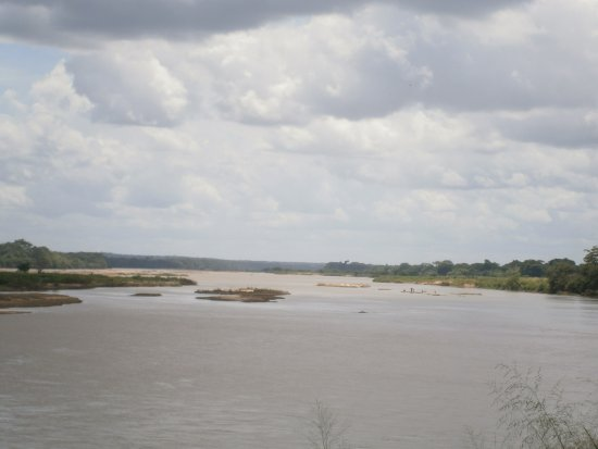 Parque Ambiental Encontro dos Rios: Encontro dos Rios