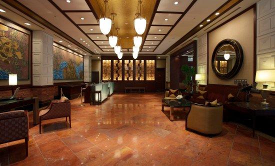 Mito Plaza Hotel : 一階ロビー