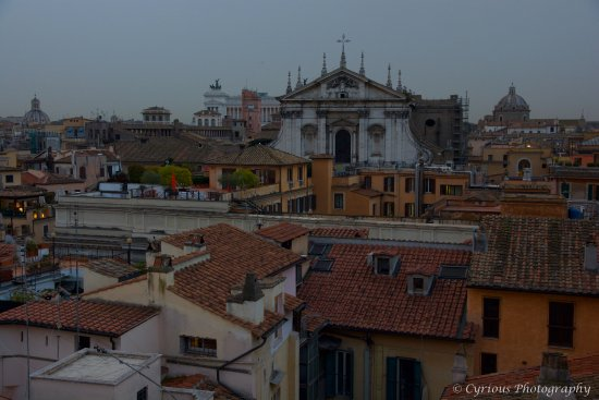 Colonna Palace Hotel : View from the top