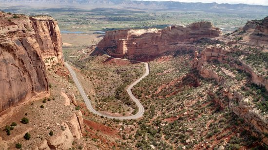 Colorado National Monument Drive