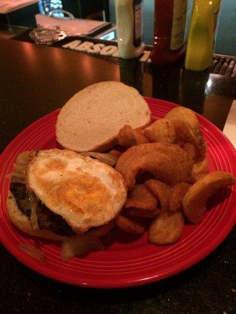 21st Amendment: Burger with fries