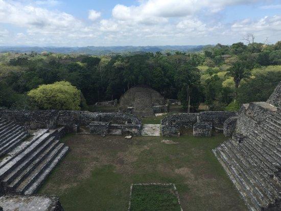 Ruines maya de Caracol : From Above