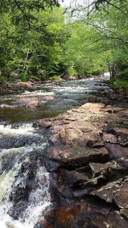 Cranberry Lake, estado de Nueva York: Copper Falls