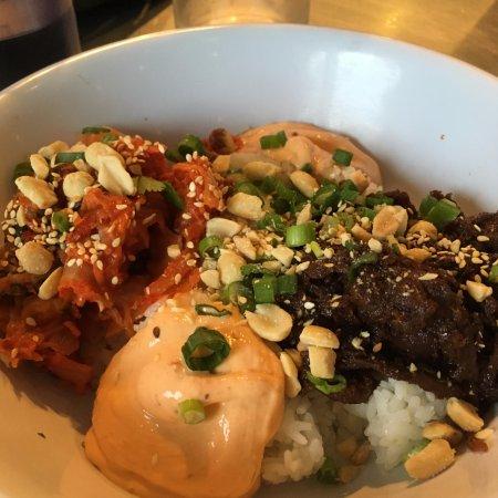 Korean BBQ Beef Short Rib Yum Yum Rice Bowl - Picture of World ...