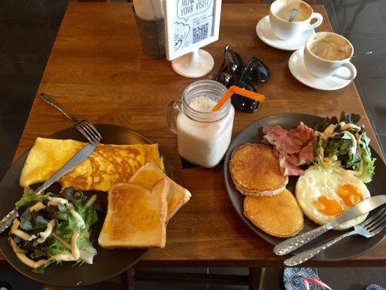 Heerlijk ontbijt!