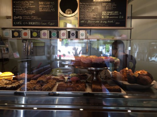 Dufflet Pastries Downtown: baked goods