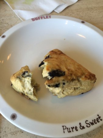 Dufflet Pastries Downtown: scone - pretty good