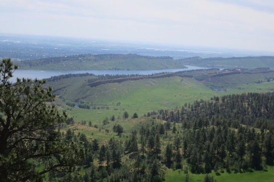 Bellvue, CO: View from the summit of Arthur's Rock