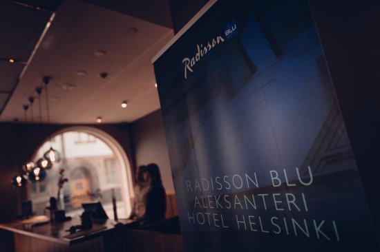 Radisson Blu Aleksanteri: Reception