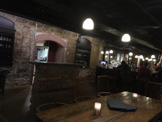 Red Wing, Minnesota: Great cellar bistro,