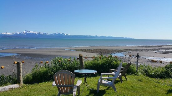 The Alaska Beach House View Of Kachemak Bay From Room Very Nice