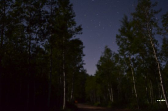 Difficult Campground: Stargazing