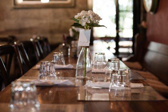 Savannah on Swan: Lovely dining