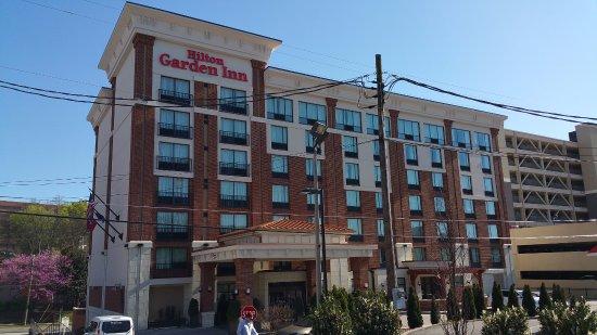 front facade at hilton garden inn knoxvilleuniversity - Hilton Garden Inn Knoxville