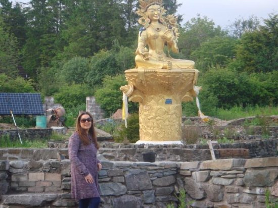 Langholm, UK: Beautiful statues