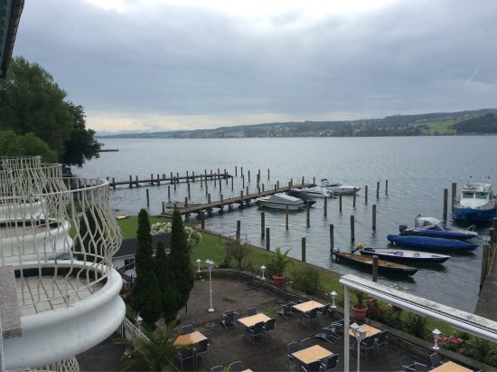 Seehotel Seeschau: Aussicht vom Balkon
