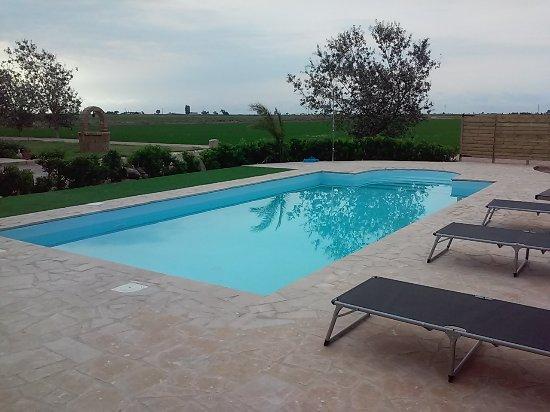 Mas del Tancat: zona piscina