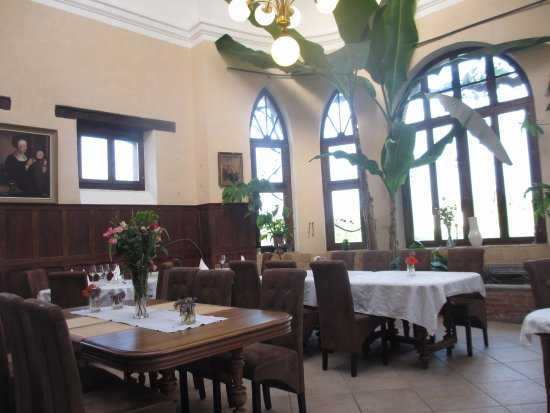 Vareilles, ฝรั่งเศส: Dining room