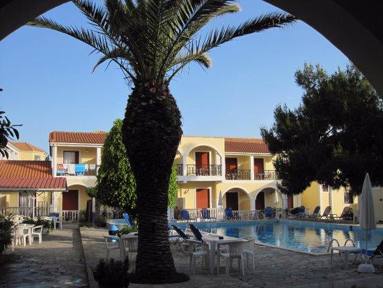 Iliessa Beach Hotel: udsigt fra værelset